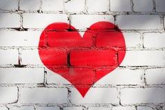 Coeur rouge Image stock