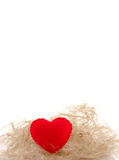 Coeur rouge Photographie stock