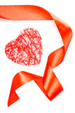 Coeur rouge Images stock