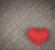 Coeur rouge Photos libres de droits