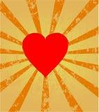 Coeur rouge Photo stock