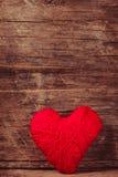 Coeur rouge d'amorçage Photo stock