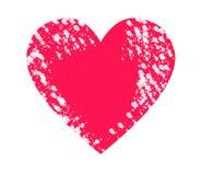 Coeur rouge de Clipart illustration stock