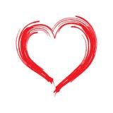 Coeur rouge iconVol3 photos stock