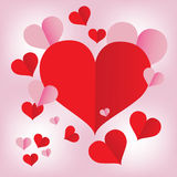 Coeur rouge iconVol6 Photo stock