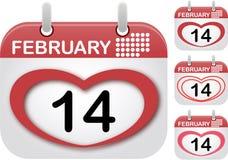 Coeur rouge pour le jour et l'amour de valentines Images stock