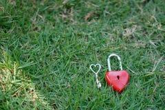 Coeur rouge principal, concept de l'amour et Valentine& x27 ; jour de s Images libres de droits