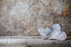 Coeur rustique Photos libres de droits