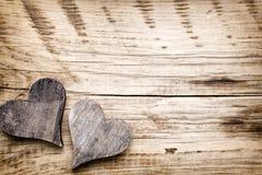 Coeur rustique Photos stock