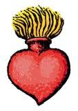 Coeur sacré illustration stock