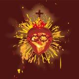 Coeur sacré (vecteur) illustration libre de droits