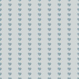 Coeur sans couture de fond de modèle Photo stock