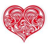 Coeur stylisé illustration de vecteur