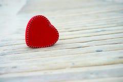 Coeur sur la route Image stock