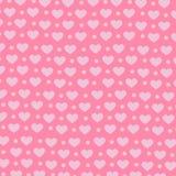 Coeur sur le fond rose, modèle doux de fond Photographie stock