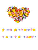 Coeur, symbole de l'amour, carte postale Photo stock