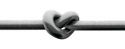 Coeur tordu en métal illustration libre de droits