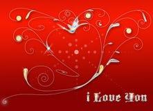 Coeur très Photo libre de droits