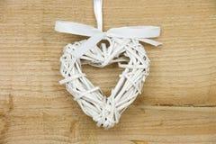 Coeur tubulaire blanc Photo stock