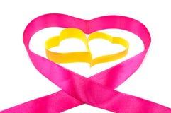 Coeur, un symbole de Valentine \ 'jour de s Photographie stock