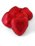 Coeurs 1 (chemin de chocolat compris) Photographie stock libre de droits