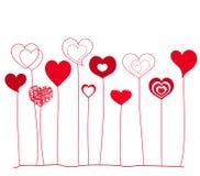 Coeurs Photographie stock libre de droits