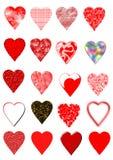Coeurs Photos libres de droits
