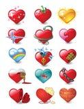 Coeurs 3 Photographie stock libre de droits