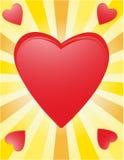 Coeurs illustration stock