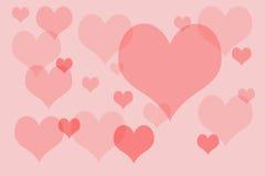 Coeurs Image libre de droits