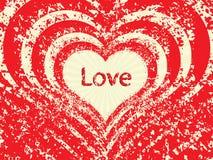 Coeurs abstraits de vecteur Image stock