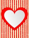 Coeurs abstraits modernes de rouge de fond Photos stock