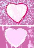 Coeurs assez roses Image stock
