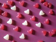 Coeurs beaucoup de fond Concept de jour du ` s de Valentine photo stock