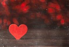 Coeurs brouillés Fond de jour de valentines Aimez le concept pour le jour du ` s de mère et le jour du ` s de valentine Carte pos Images stock