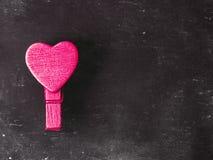Coeurs brouillés Fond de jour de valentines Aimez le concept pour le jour du ` s de mère et le jour du ` s de valentine Carte pos Image libre de droits
