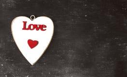 Coeurs brouillés Fond de jour de valentines Aimez le concept pour le jour du ` s de mère et le jour du ` s de valentine Carte pos Image stock