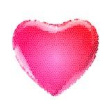 Coeurs colorés Images libres de droits