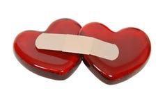 Coeurs curatifs photo libre de droits
