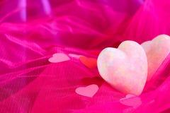 Coeurs décoratifs Image libre de droits