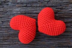 Coeurs d'amour Photos libres de droits