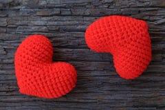 Coeurs d'amour Photos stock