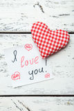 Coeurs d'amour Photographie stock libre de droits