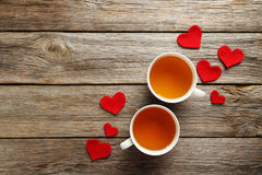 Coeurs d'amour Photo stock