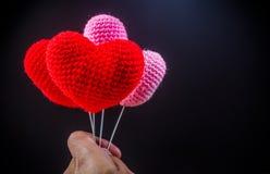 coeurs d'amour, concept de valentine Photos libres de droits