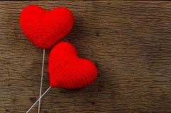 coeurs d'amour, concept de valentine Images stock