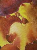 Coeurs d'automne Photos libres de droits