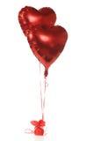Coeurs d'hélium Image stock