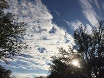 Coeurs dans le ciel Photo stock