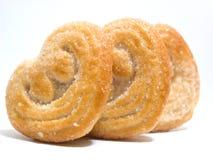 Coeurs de biscuits Photographie stock libre de droits
